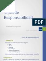 Tema 10 - Tipos de Responsabilidad (BIOÉTICA)