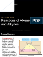 Reactions Alkenes & Alkynes
