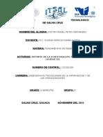 Victor Miguel r.h...... Reporte de Investigacion Tema 3.3 y 3.4 Unidad III