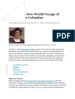 The Fourth New World Voyage of Christopher Columbus
