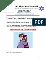 Parasha No.8 Vaishlaj Materialismo y Espiritualidad