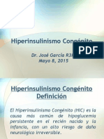 Hiperinsulinismo Congenito