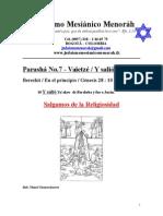 Parasha No.7 Vaietze Salgamos de La Religiosidad