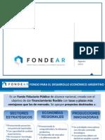 Informe Proyectos FONDEAR