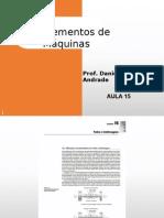Elementos de Máquinas Prof Daniel - Aula15