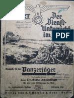 Reibert - Der Dienstunterricht Im Heere - Ausgabe Für Den Panzerjäger (1941)