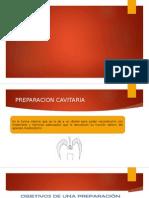 PREPARACIONES CAVITARIAS DE BLACK CLASE II