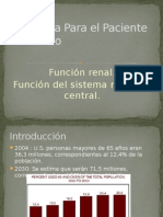 Anestesia en Geriatria