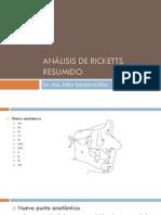 Analisis de Ricketts Resumido