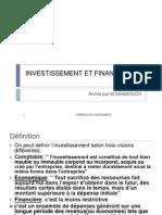 Levaluation Des Projets Dinvestissement