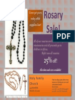 rosary sale