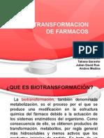 Seminario 3 Farmacologia (Biotransformación)