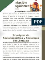 La Variación Sociolingüística