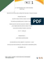 Informe Ejecutivo Fase I