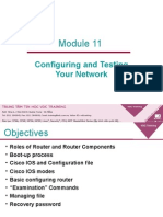 Module11-Configuring and Testing Your Network