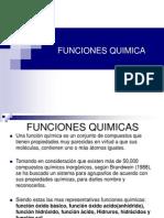 FUNCIONES QUIMICAS-NOMECLATURAS
