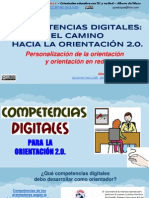 Competencias digitales en orientación educativa