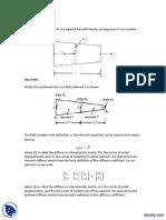 Stiffness Matrix of a Tapered Bar-Finite