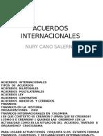 ACUERDOS  INTERNACIONALESNury
