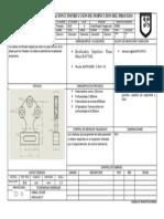 Hoja de Operación e Instrucción de Inspección Del Procesorecticadodefresado