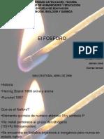 el elemento fosforo