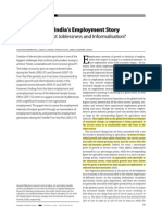 Turnaround in Indias Employment Story