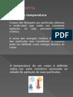 Material de Apoio Física Termometria Professor Bruno Andrade Sepulveda