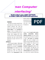 Human Computer Interfacing'
