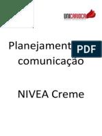 Planejamento - NIVEA creme - Victória Lacerda