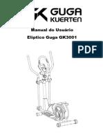 Elíptico Guga GK3001