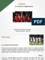 Reglas y tacticas de futbol