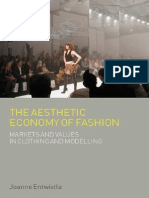 The Aesthetic Economy of Fashion (Dress, - Entwistle, Joanne