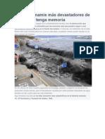 Los 10 Tsunamis Mas Devastadores de La Historia
