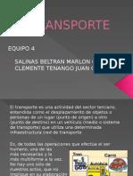 "INGENIERIA DE TRANSITO ""EL TRANSPORTE"""
