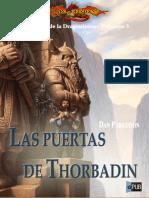 Dan Parkinson - Héroes de La Dragonlance Trilogía 2 II - Las Puertas de Thorbardin