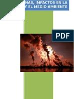 Dioxinas impactos en la salud y el medio ambiente