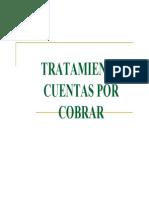 Tratamiento CxC