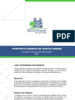 Presentacion Final Barrios Quinta Normal