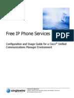 Free XML Services for IP Phones