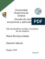 Beneficio Sociales de Derecho Laboral
