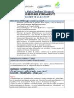 Agenda de La Reunión. MODULO V