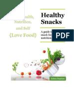 healthy snacks nutrition education