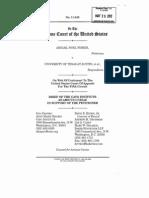Fisher v U Texas - Brief of CATO Institute
