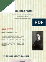 romanticismo - Arquitecto Rudolf Steiner - Obra Goetheanum