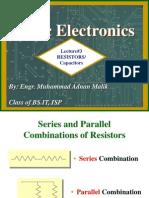Resistors Capacitors