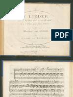 Ich Liebe Dich - Edward Grieg