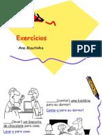 Exercicios português imperativo