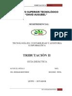 Modulo Tributacion II