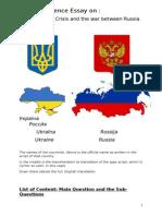 A Social Science Essay on the Ukraine Crisis