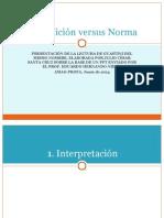 GUASTINI Disposición versus Norma (JCSC)